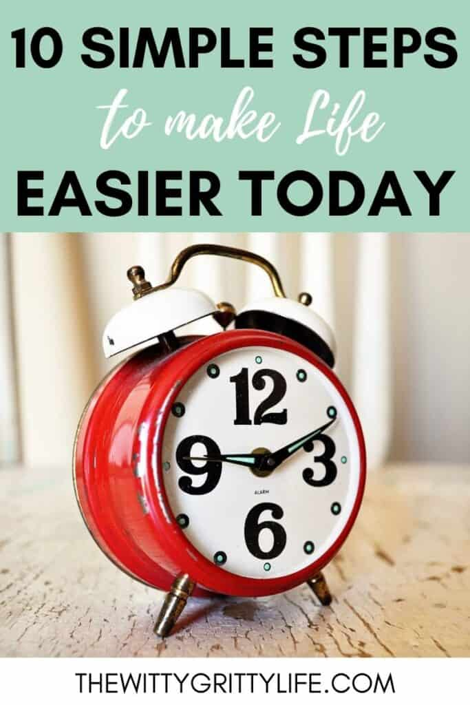 pinterest image 10 simple and useful steps to make life easier today