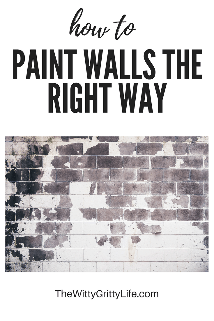 How to paint walls the right way is a three part series that is designed to help you achieve a professional looking paint job even if you have very little experience.