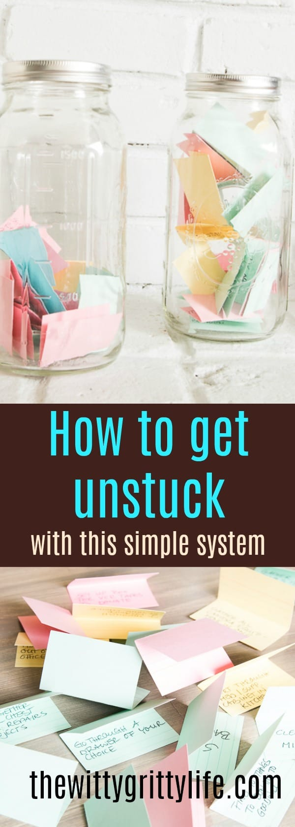 Sometimes big problems call for simple solutions. I came up with this simple system a while back to get me back on track with my decluttering journey.