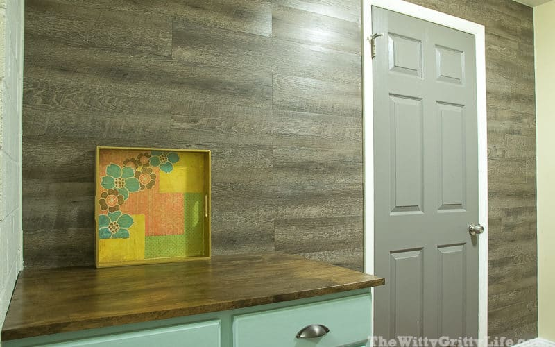 Easy and Budget Friendly Planked Wall