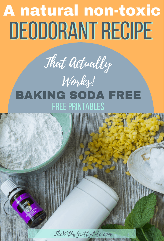 Do you want to make the switch to natural deodorant, but aren't sure how? Many homemade formulas don't work as well as they should and often contain irritating baking soda. This recipe will keep you smelling good, contains no toxic ingredients and contains no baking soda! If you ever wanted to DIY your own deodorant this is the recipe for you. Create the stick or cream version from one simple recipe.