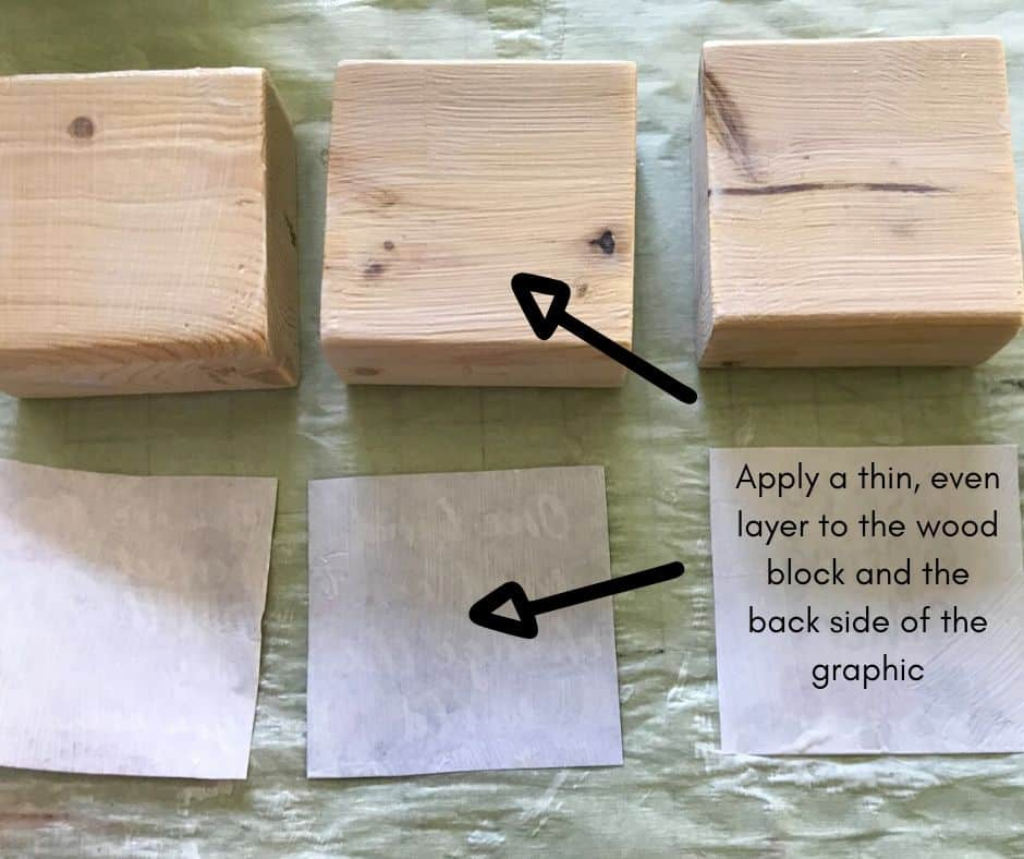 image of three wood blocks side by side with upside down graphic in front of each