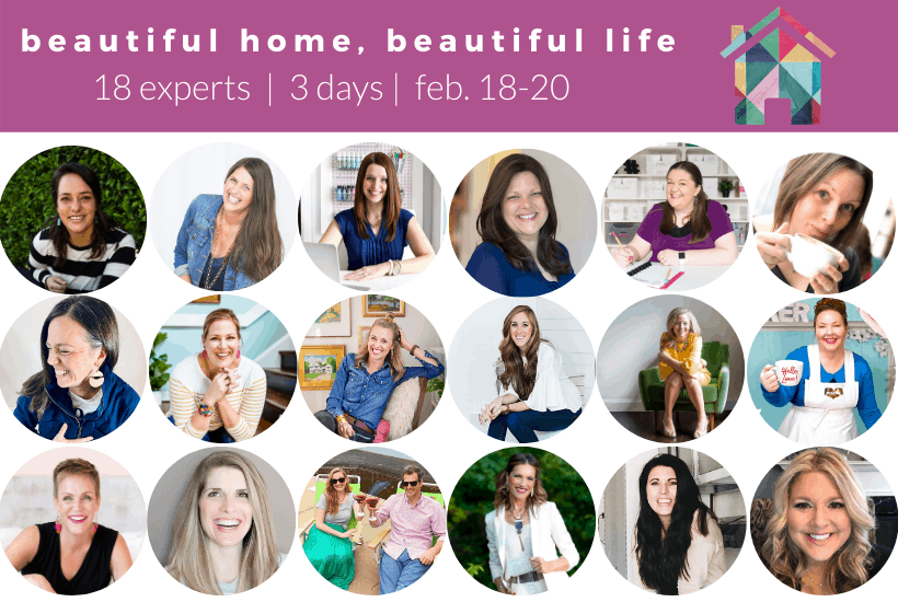 Image showing all speakers for the Better Home Better Life online summit event