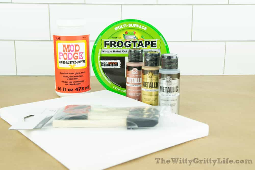 supplies needed to create diy wall signs with quotes
