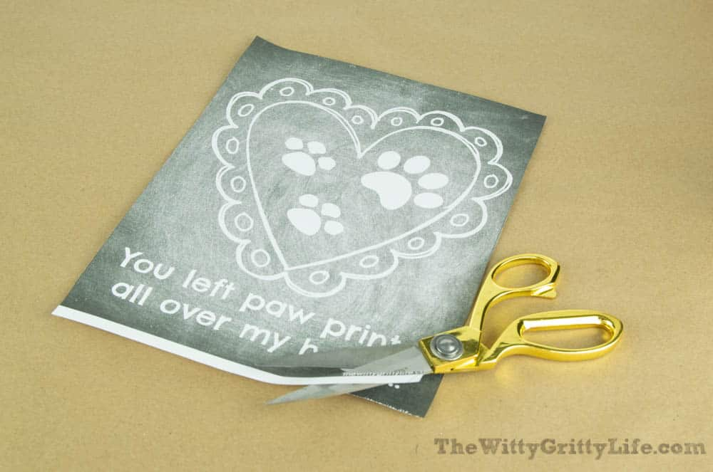 free printable for diy wall signs with quotes, cut to the proper size