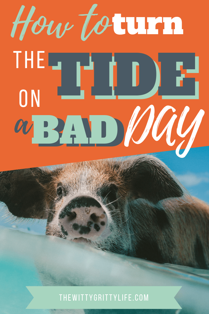 Has life got you down? Sometimes it just takes a little step to turn things around. If you have the right tools, you can hit the reset button anytime and turn the tide on a bad day.