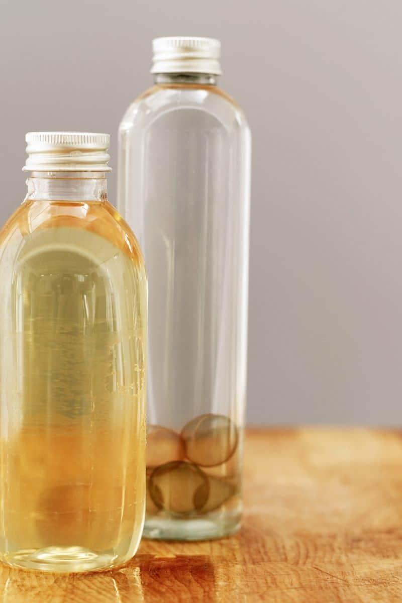 moisturizer oil bottles