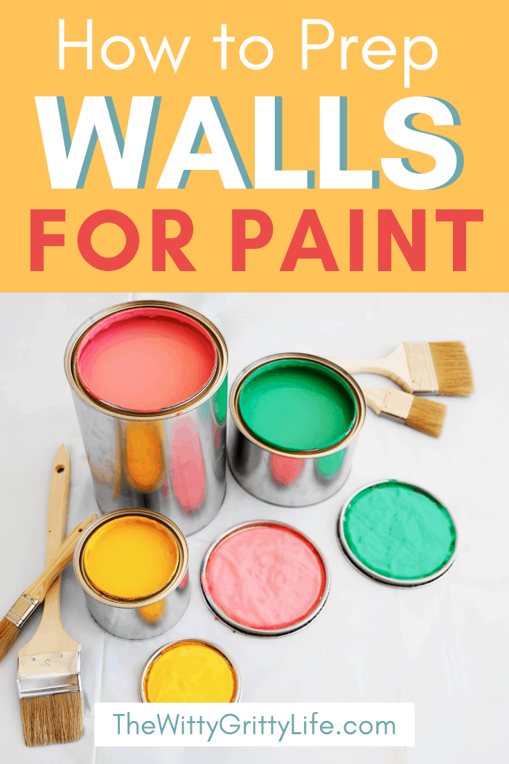 how to prep walls pinterest image