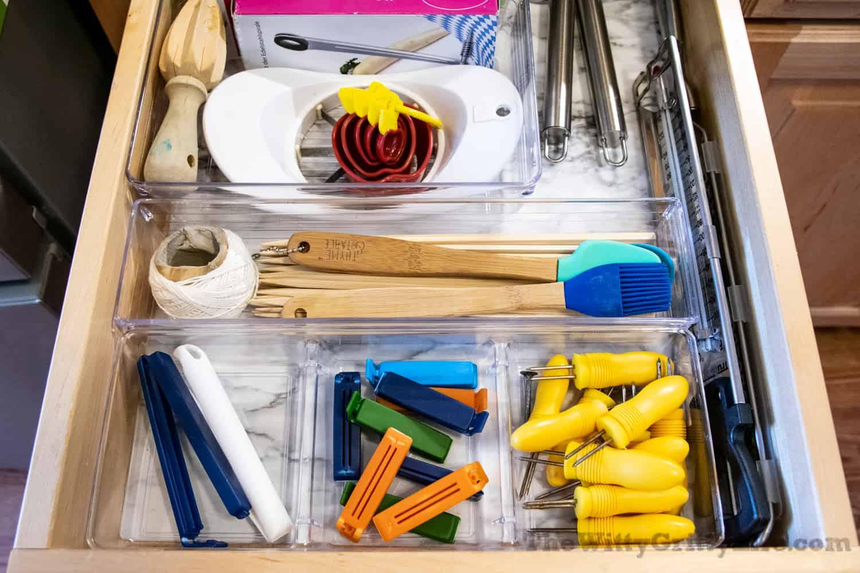 kitchen drawer organized