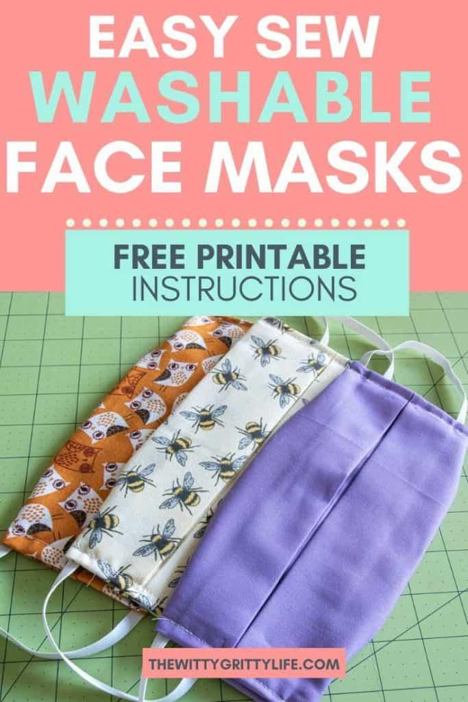 washable face masks alternate pinterest image