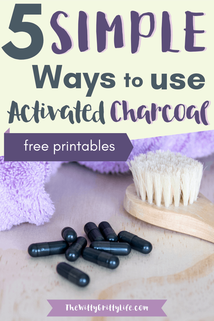 Activated charcoal with its many benefits ranging from whitening teeth to calming an upset stomach, aiding in detox, even helping to prevent hangovers is the perfect all around ingredient to keep on hand. Reasonably priced, it can easily be added to your DIY body care recipes like my favorite acne busting charcoal mask recipe.