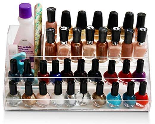 acrylic nail polish storage for essential oils