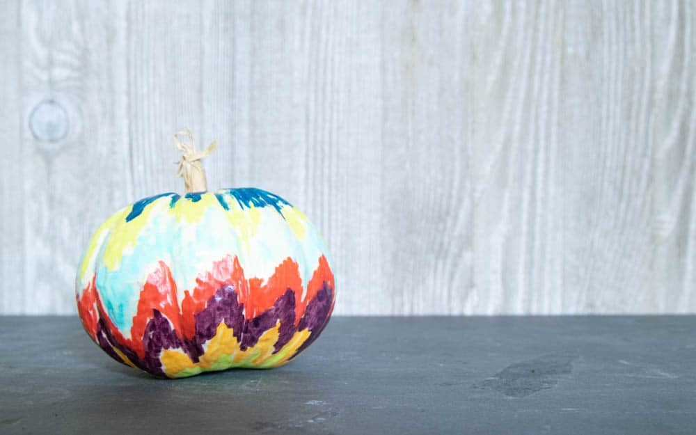 easy colorful diy fall pumpkin decor