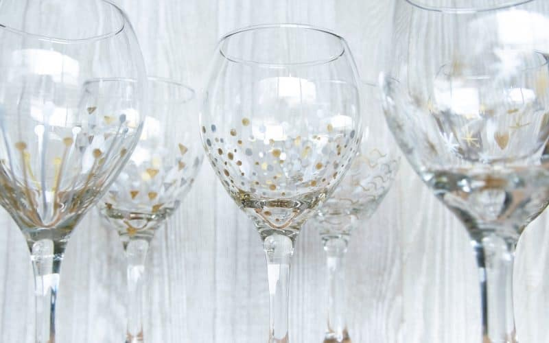 FUN, FESTIVE AND FABULOUS GLASSES YOU CAN MAKE FAST AND CHEAP