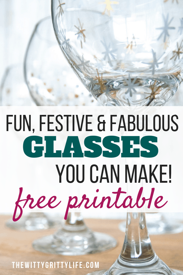 You can create fun, festive and fabulous glass ware without special tools or artistic skills! They make lovely handmade gifts that are sure to impress!