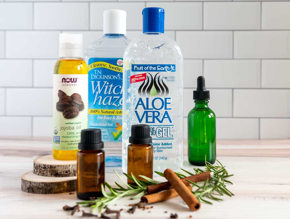 ingredients for hand sanitizer without alcohol