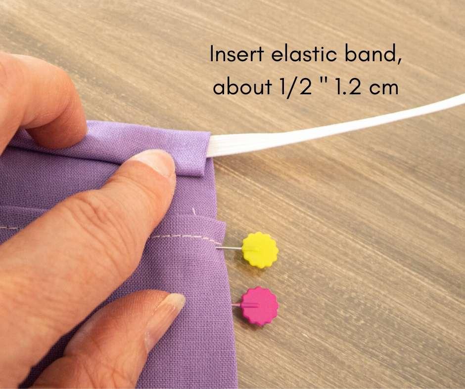 elastic band inserted
