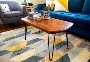 mid century modern coffee table featured image