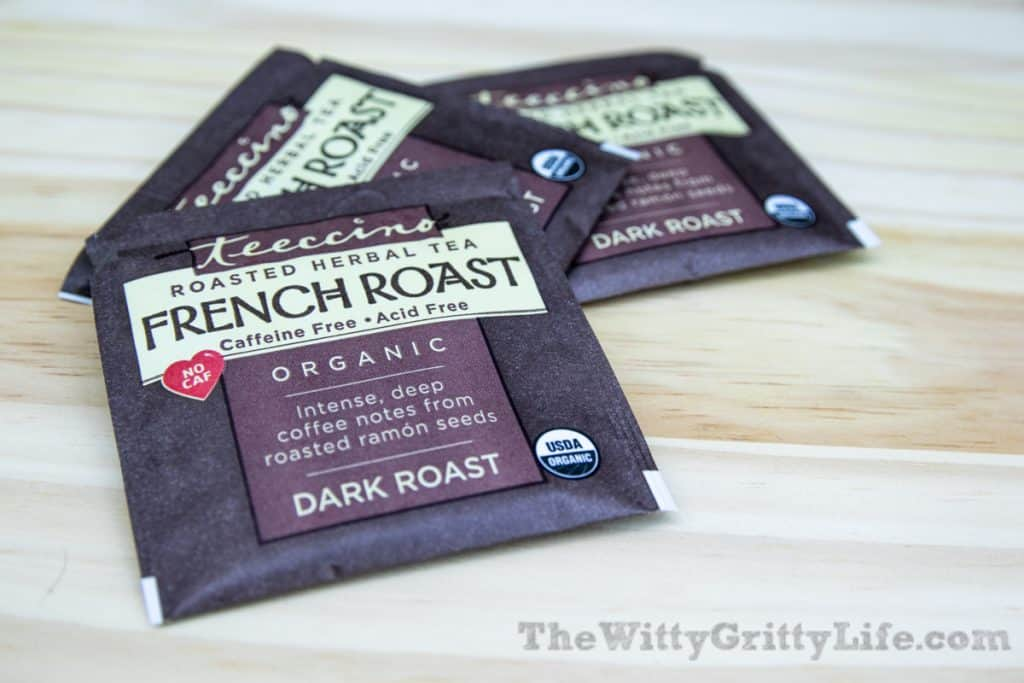 teeccino french roast coffee substitute for quitting coffee